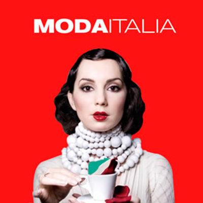 Logo della fiera Moda Italia